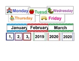 Reusable 10-Year Calendar 2019-2029 Monday-Friday