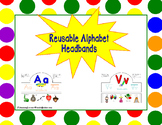 Reusable Alphabet Headbands