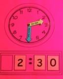 Reusable Analog and Digital Clock for Grouping or Individual
