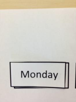 Reusable Daily Calendar