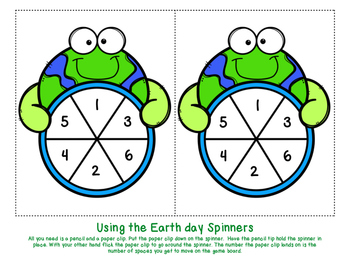 Reusable Earth Day Math Game {+10 facts to 20}