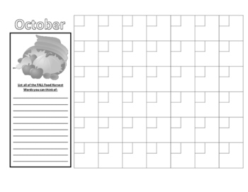 Reusable Monthly Calendar Sheets to Track Weather & Temperatures