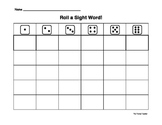 Reusable Sight Word Dice Game/Station
