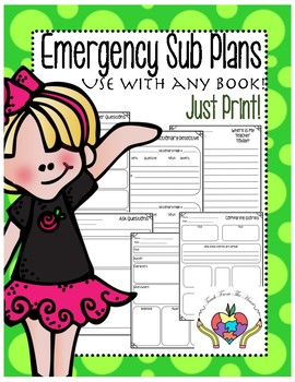 Reusable Sub Plans-Just Print!