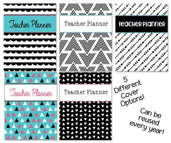 Reusable Teacher Planner