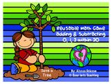 Reusable Earth Day Math Game {Adding and Subtracting 0, 1,