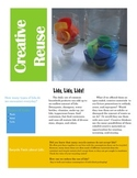 Reusing Recycled Materials for Learning Activities in the