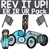 Rev It Up with the ER IR UR Race Car Pack