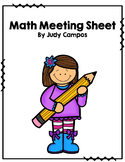 Calendar Journal *First Grade* Available in English and Spanish and Editable