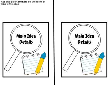 Reveal Cards- Main Idea