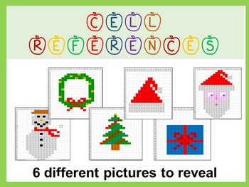 Reveal Mystery Pictures – Practise Cell References Skills