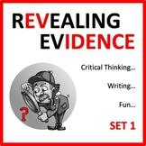 Revealing Evidence Set 1 - a digital ELA game
