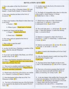 Revelation: Bible as Literature