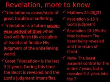 Revelation Power Point Notes