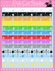 Borders - Reversable Christmas Borders Clip Art - Personal or Commercial Use