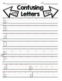 Reversal Practice, B/D/P/Q Letter Discrimination, Confusing Letter Practice