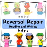 Letter Reversals b-d-p-q  Reading & Writing: Multisensory