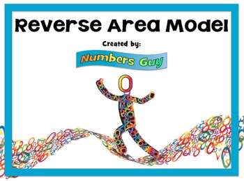 Reverse Area Model (Part of Multiplication Unit)