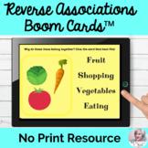 Language Processing Associations Boom Cards NO PRINT Speec