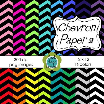 Reverse Chevron Digital Background Papers