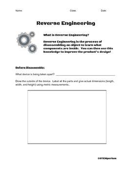 Reverse Engineering Activity
