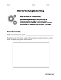Reverse Engineering Activity