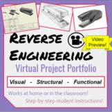 Reverse Engineering Project- Virtual Portfolio for Enginee