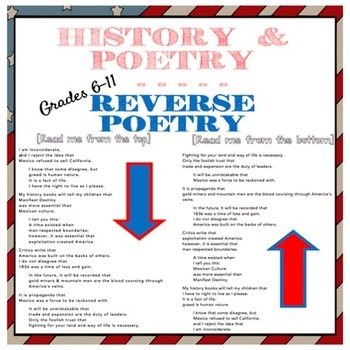Reverse Perspective Poetry:  Considering all sides of history Grades 6-12