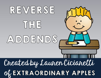 Reverse the Addends