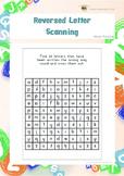 Reversed Letter Scanning