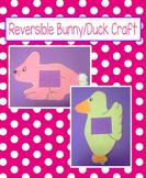 Reversible Easter Bunny / Duck Craft