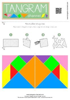 Reversible Tangram (DIY Activity Project)