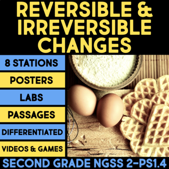 Reversible and Irreversible Changes - Second Grade Science Stations