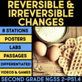 Reversible and Irreversible Changes BUNDLE - Second Grade Science Stations