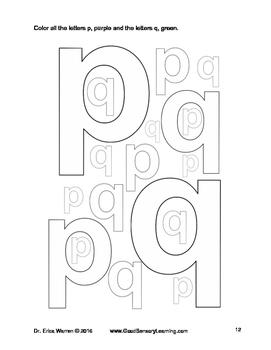 Reversing Letter Reversals: Beginners