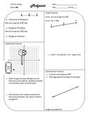 Review #1 Midpoint Geometry CCSS