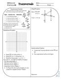 Review #5 Transversals Geometry CCSS