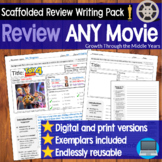 Review ANY movie or film (DISTANCE LEARNING supported)