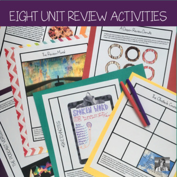 6 Creative Review Activities for ELA