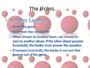 """Review Activity- """"Literature Dodgeball"""" (works for ANY content, not just LA)"""