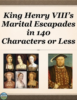 King Henry VIII Activity