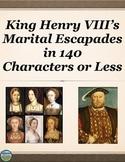 King Henry VIII Activity