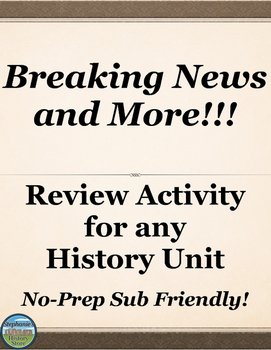 Review Activity for any Social Studies Topic