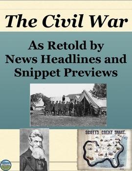 Civil War Creative Review Activity