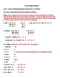 Review All Operations with Polynomials
