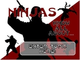 Review Anything With Ninjas - Customizable PowerPoint Review Game