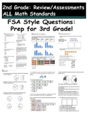 Review/Assessments ALL Math Standards FSA Style Questions