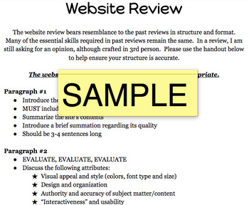 Review BUNDLE - Restaurant, Movie, Music, Website