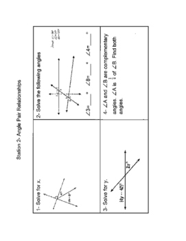 Review Basics of Geometry
