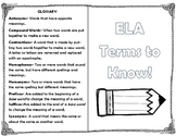 Review Book: Synonyms/Antonyms, Homographs/Homonyms, Contr